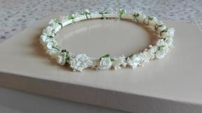 corona paniculata blanco roto