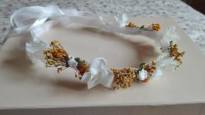 trencilla arpillera blanca flores secas-2