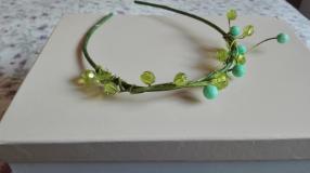 corona cristal verde